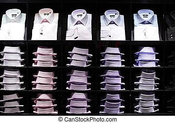 nymodig, och sätt, kläderlager
