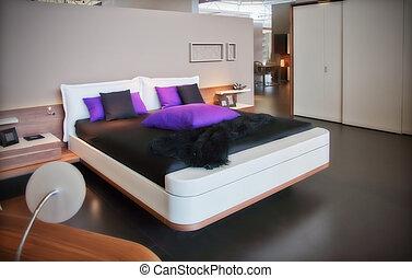 nymodig rum, sova