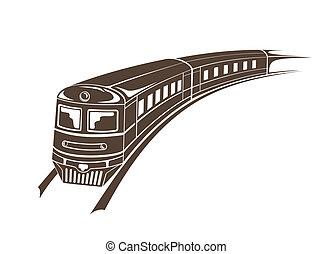 nymodig, tåg