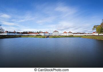nymphenburg, castillo, munich, alemania