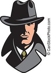 nyomozó, magán