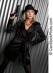 nyomozó, nő