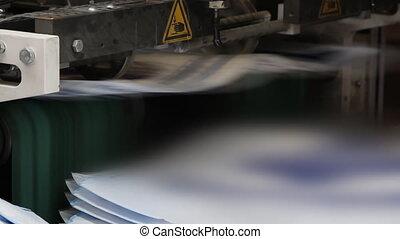 nyomtat, sajtó, nyomdászat, gép