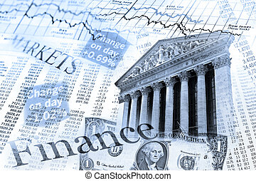 NYSE stock index and exchange rate table - Composing with...