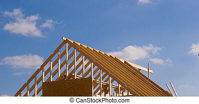nyt hus, konstruktion under