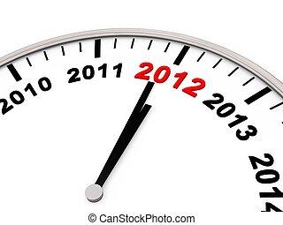 nytt år, 2012