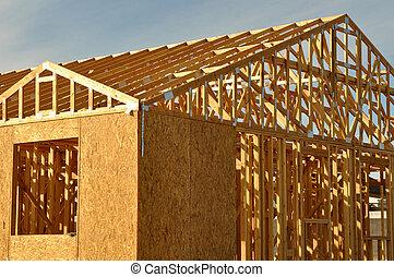 nytt hem, konstruktion under