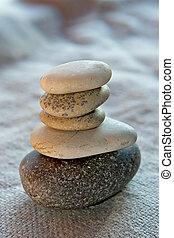 nyugalom, és, egyensúly