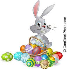 nyuszi, eg, húsvét, white chocolate