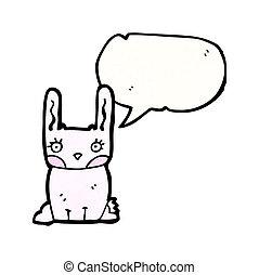 nyuszi nyúl, karikatúra