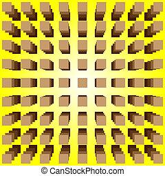 oční iluze