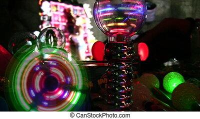 oświetlenie, zabawki