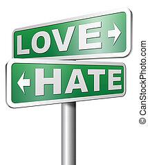 o, amore, odio