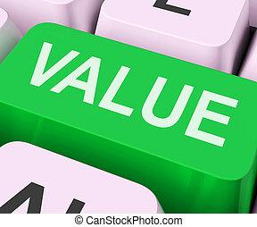 o, chiave, significatività, importanza, mostra, valore