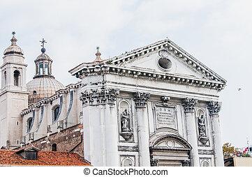 o, gesuati, dei, del, santa, 教会, ロサリオ, マリア