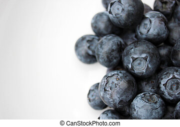 o, pila, vitaminas, arándano, fruta, lleno, antioxidantes, ...