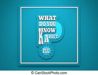o, pytanie, grypa, co, wiedzieć, ty