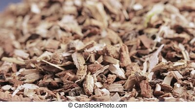 Oak bark loose - Bulk shredded oak bark chemist