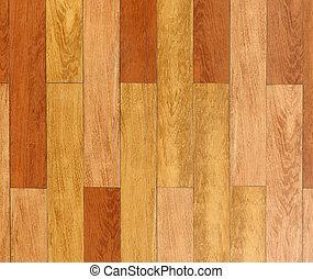 Oak laminate parquet floor texture