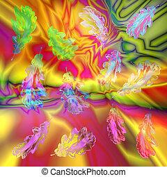 Oak Leaf Abstract