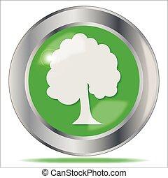 Oak Tree Button