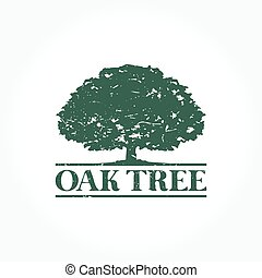 A simple Oak Tree logo set for your business that quite unique so it can stand from the crowd. Easy to implement in future needs.