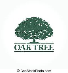 Oak Tree Logo - A simple Oak Tree logo set for your business...