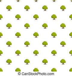 Oak tree pattern seamless