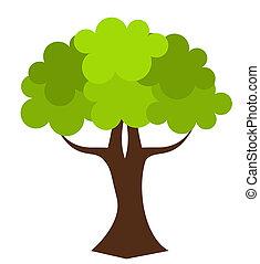 Oak tree vector