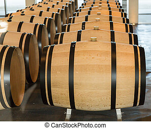 Oak Wine Barrel Bordeaux - Wine barrels, especially those...