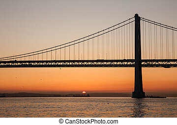 oakland κόλπος γέφυρα , san francisco , καλιφόρνια