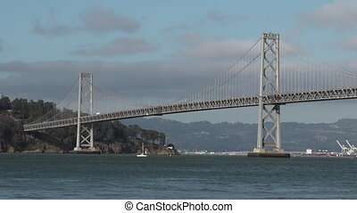 Oakland Bay Bridge San Francisco CA - Oakland Bay Bridge San...