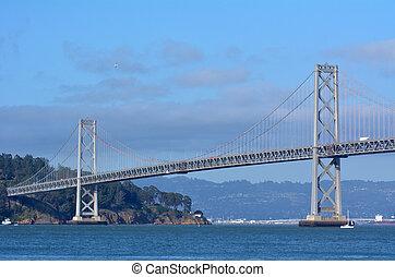 oakland csaholás bridzs, san francisco, -, kalifornia