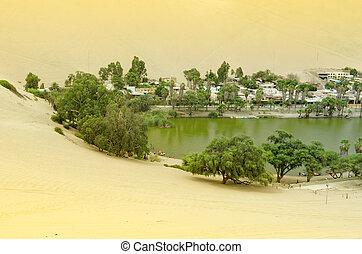 oasi, huacachina