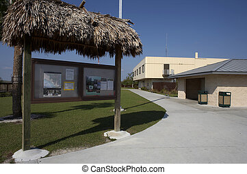 Oasis visitor center big cypress national preserve, florida,...