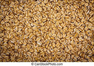 Oat grain background.