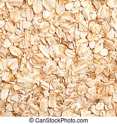 oatmeal golden background close up