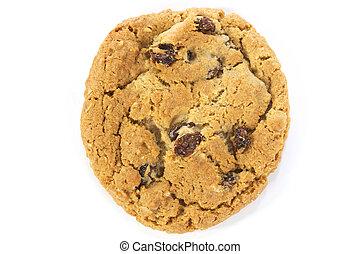 Oatmeal Raisin Cookie Over - single oatmeal raisin cookie...