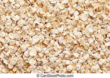 Oatmeal (rolled oats) background - Oatmeal (rolled oats) ...