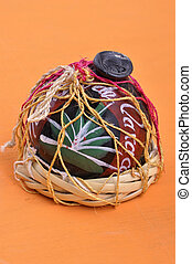 Oaxaca clay mezcal container - Typical Mexican handicraft...