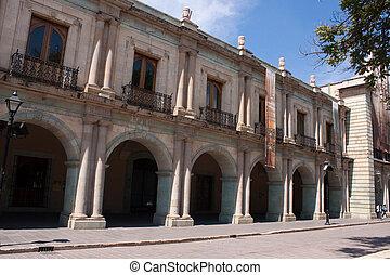 oaxaca, oude stad, straat