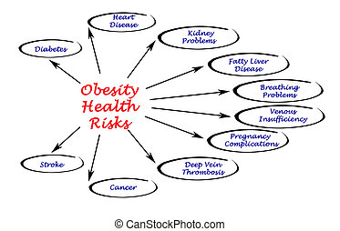 obésité, santé, risques