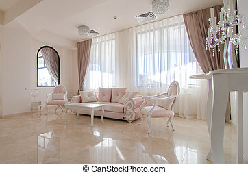 obývací pokoj celodenní, vnitřní