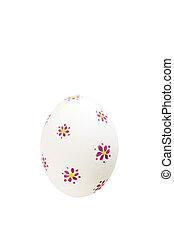 obalit v rozšlehaných vejcích neposkvrněný, velikonoční, osamocený, grafické pozadí