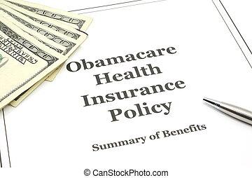 obamacare, 건강 보험, 정책