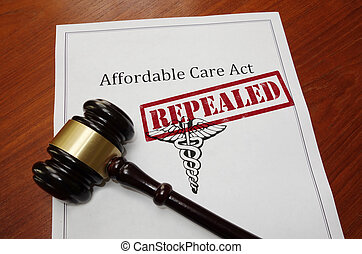 obamacare, concept, repeal