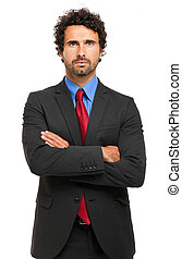 obchodník, běloba grafické pozadí