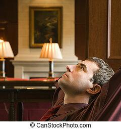 obchodník, relaxing.