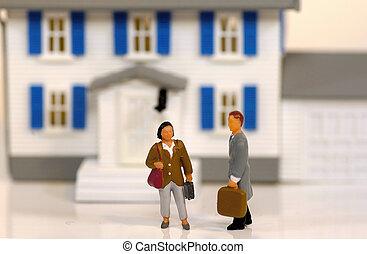 obchodník s nemovitostmi