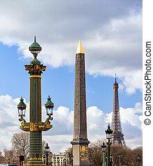 Obelisk Lantern Eiffel